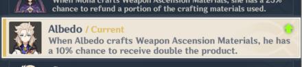 Reembolso de materiales para la fabricación de armas