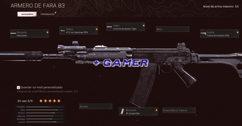 Mejor Armamento FARA 83 Corta distancia Warzone