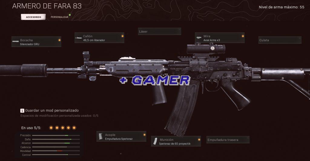 Mejor Armamento FARA 83 Warzone