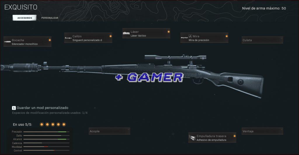 Mejor Armamento KAR98K