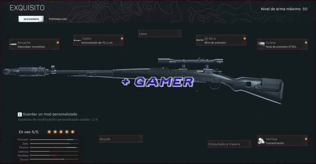 Mejor Armamento KAR98K larga distancia
