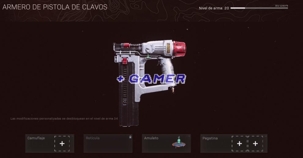Pistola de Clavos Warzone